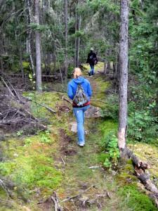 Hiking Blue Lake, Ontario