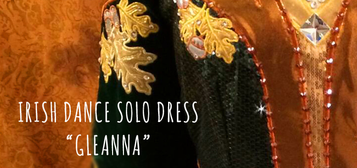 The Forest Fairy Irish Dance Solo Dress: The Story Behind the Symbols