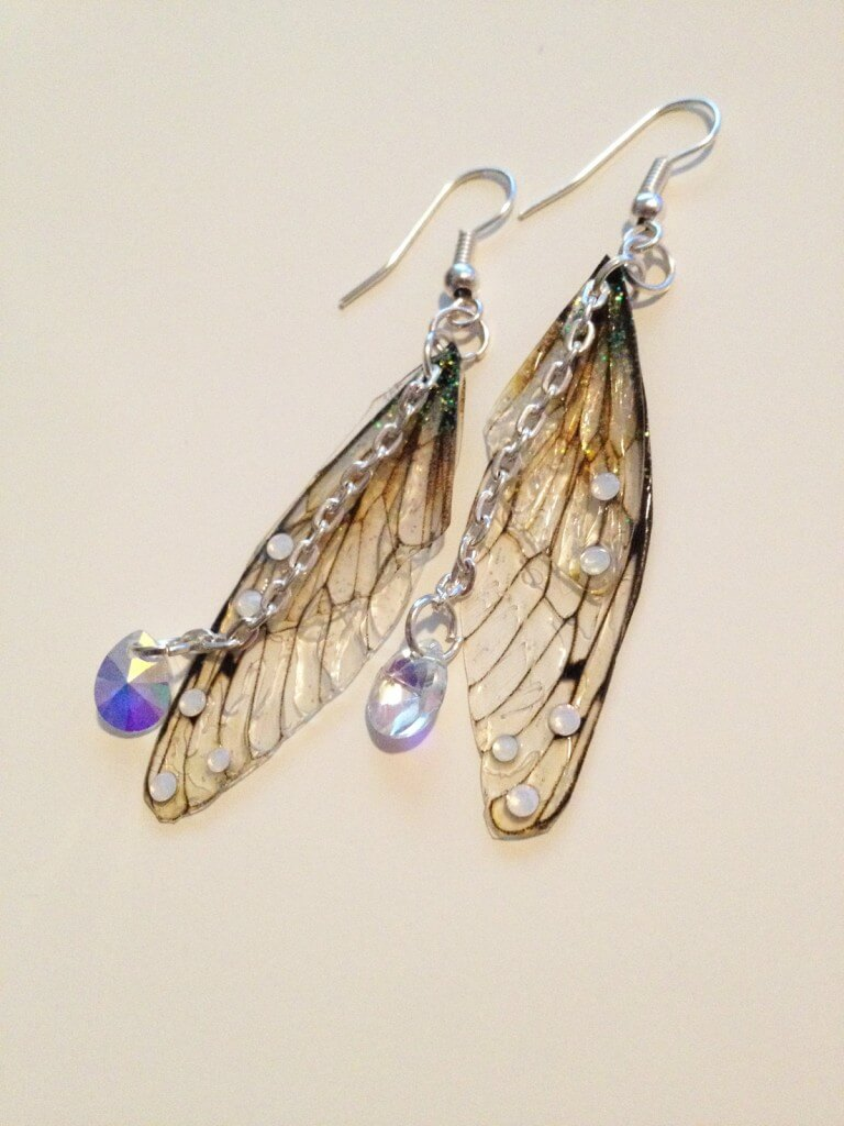 Under the Ivy Rather Pretty Faerie Wing Earrings