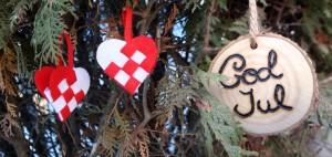 Swedish woven hearts