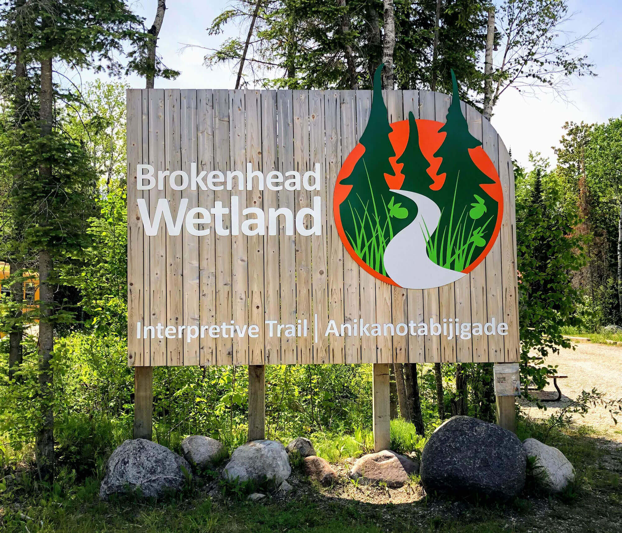 Brokenhead Wetland Interpretive Trail Signage