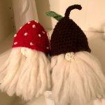 crochet tomtes