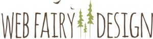 web fairy design logo